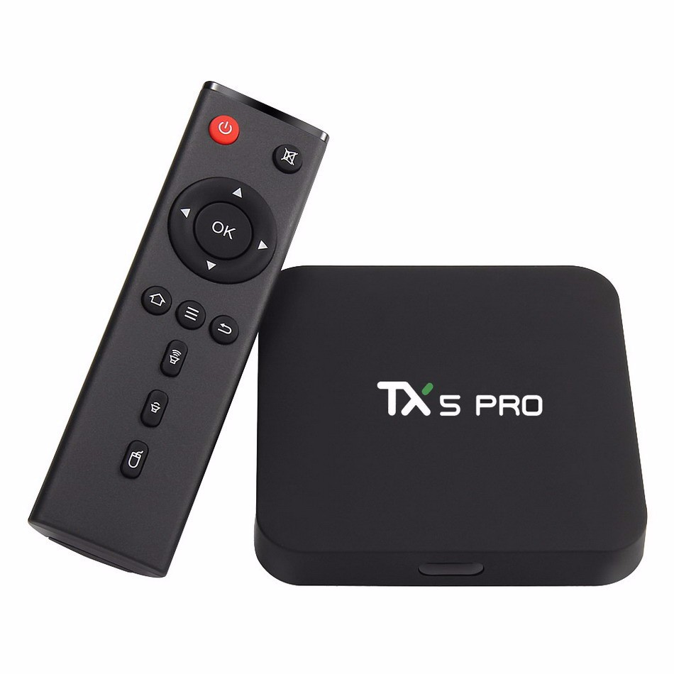 New TX5 Pro Android 6.0 TV BOX Amlogic S905X Quad Core 2G/16G 4K KODI Smart Tv WIFI LAN HDMI Media Player android tv box android 5 1 box mxqpro 4k amlogic s905 quad hdmi 2 0 kodi 16 0 loaded add ons wifi 4k 1080p wifi smart tv box