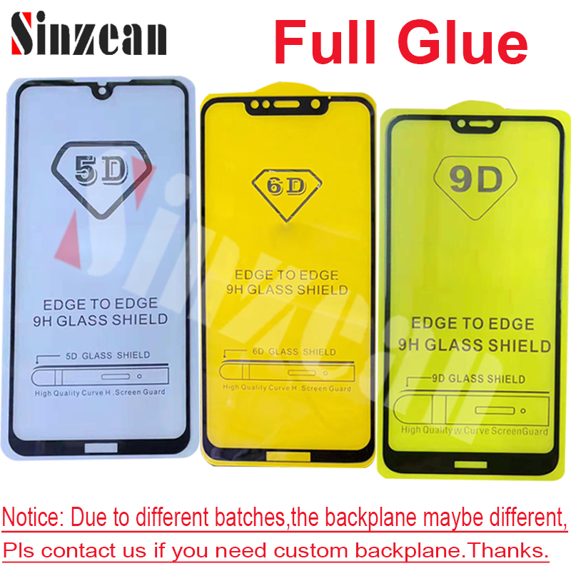 Image 3 - 100pcs 9D Full Glue Tempered Glass for MOTO G8 Plus/G8 Play/G8  Power/G7 Play/G7 Power/E6 Plus/E6 Play 2.5D Screen ProtectorPhone  Screen Protectors