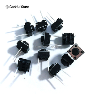Image 2 - 100 CÁI Tactile Push Button Chuyển 6x6x5 mét 6*6*5mm 2 p Micro Chuyển Đổi Chuyển Đổi Chính Tactile Push Button Tắc 6x6x5mm