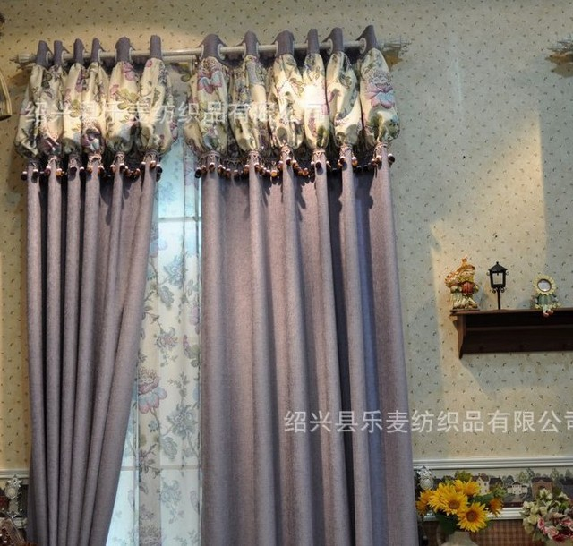 Aliexpress.com : Buy Shenille curtain with hooks or punching ...