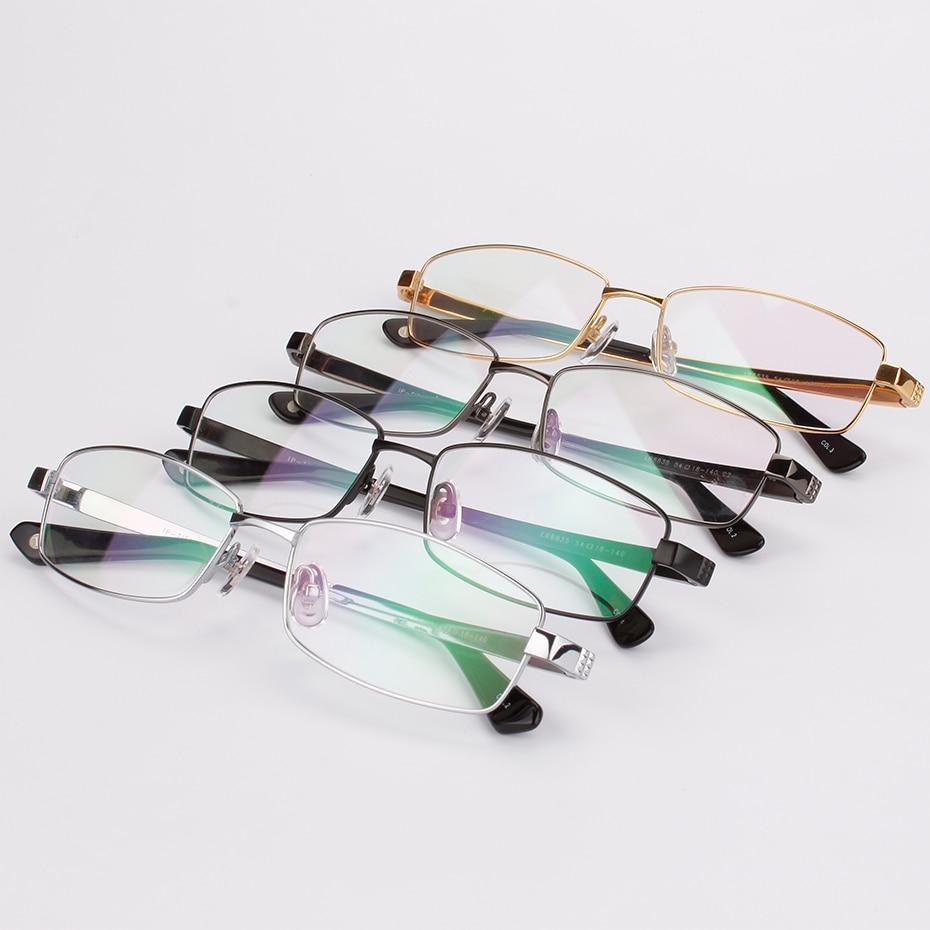 Мъжки очила с пълен обем чист титанов - Аксесоари за облекла - Снимка 4