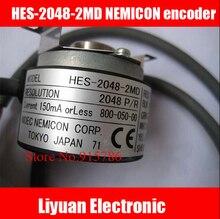1 pcs 새로운 HES 2048 2MD nemicon 인코더/2048 p/r 엘리베이터 인코더/인코더 중공