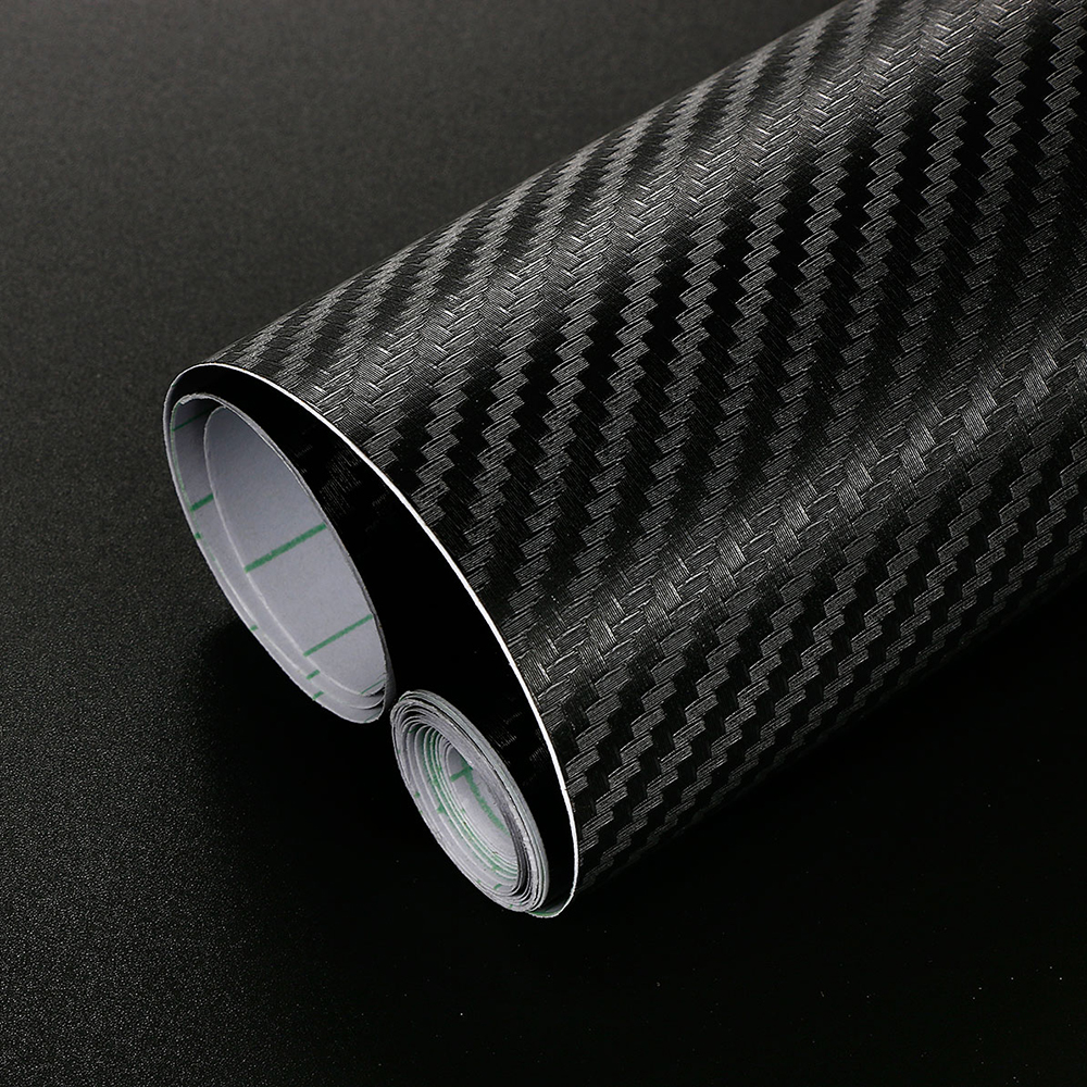 40cm x 200cm 3D Carbon Fiber Vinyl Film Car Stickers Waterproof DIY Car Styling Wrap For Auto Vehicle Motorcycle Car Accessories
