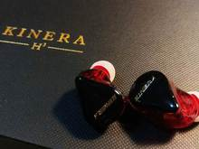 KINERA H3 Triple Pilote Hybride 2BA + DD HiFi In-Ear Écouteurs Casque Amovible Détachable 6N OCC Argent Plaqué Câble