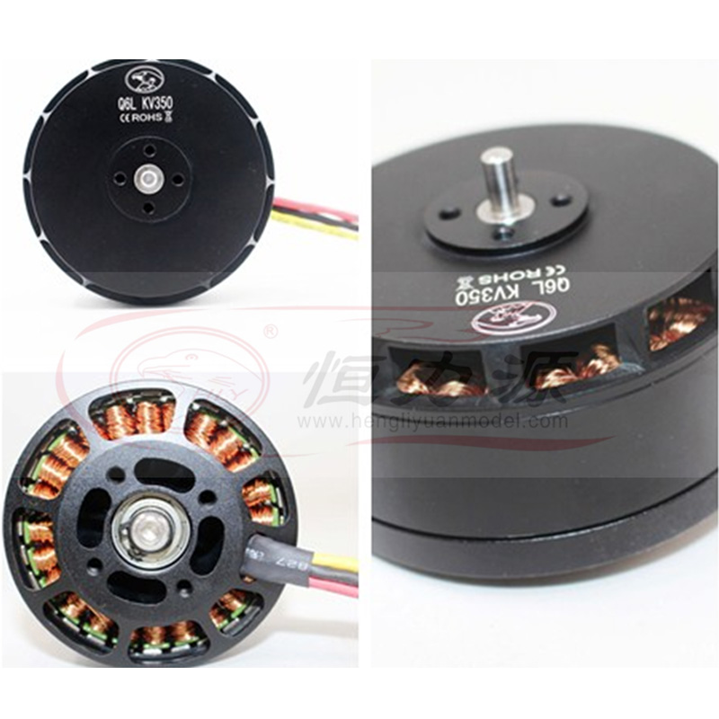 Constant force source brushless motor Q6L (6215) multi-axis plant protection motor thick wire 2255 carbon paddle