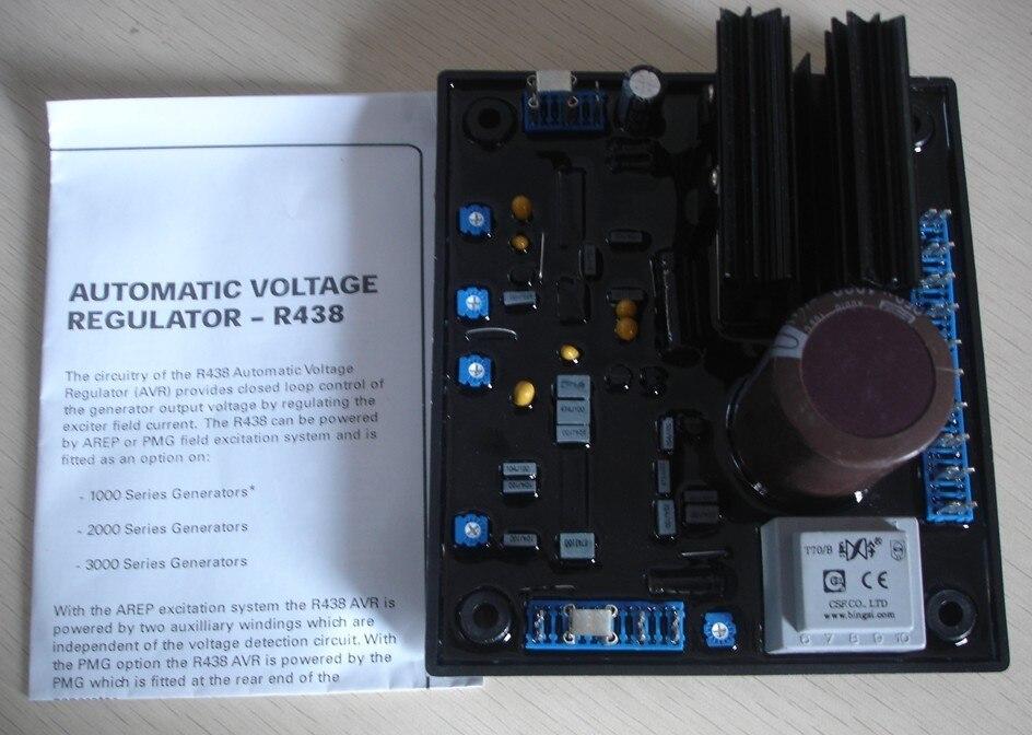generator brushless generator voltage regulator AVR R438 цепочка с подвеской 0 multi za jewwlry necklaces