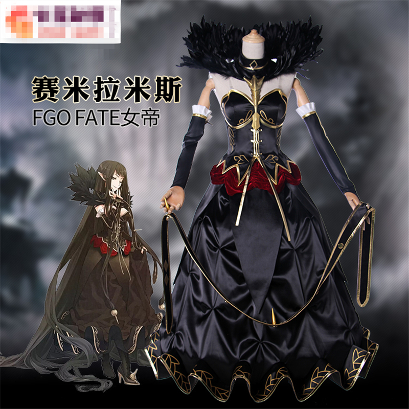 Anime Fate Apocrypha Semiramis Sammu ramat Assassin Queen Cosplay Costume Women Dress For Halloween And Animation