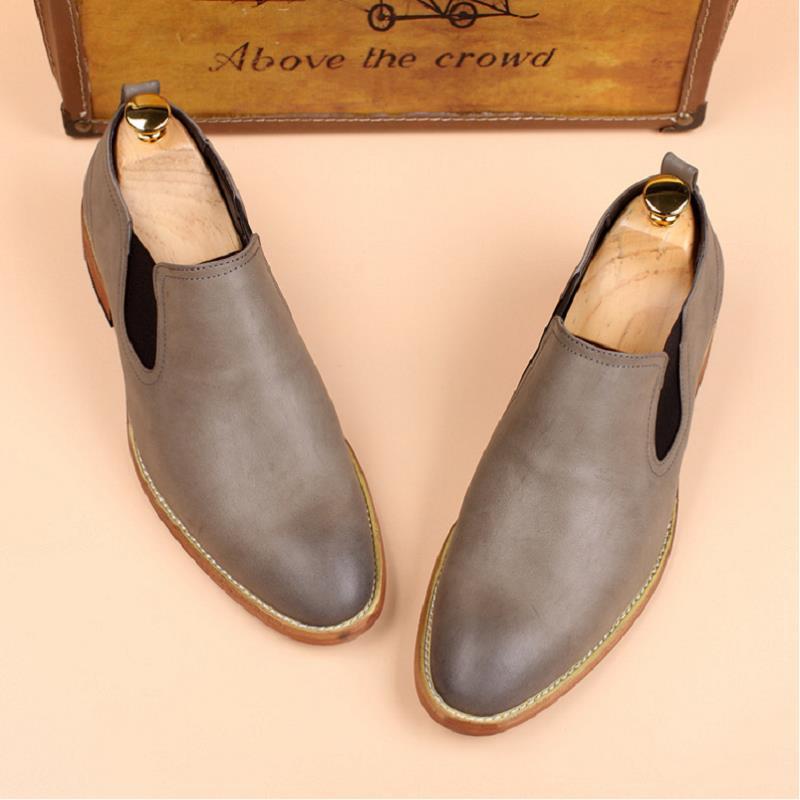 MYCOLEN The new listing Men Dress Shoes Man Slip-On Wedding Shoes Men Comfortable Formal Shoes Zapatos De Cuero Los Hombres очиститель воздуха mitsubishi electric ma e83h r1
