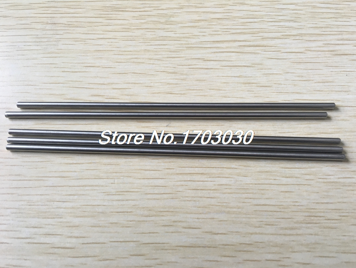 10pcs Stainless Steel 200 x 3mm Round Rod Shaft for RC Model rc helicopter 40mm x 3mm stainless steel ground shaft round rod 20pcs