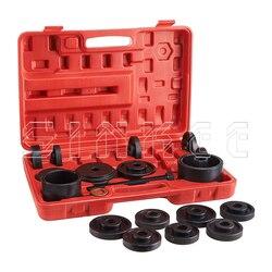 23Pcs Fwd Vorne Stick Lager Drücken Kit Entfernung Adapter Puller Pulley Tool Kit W/Fall Hohe Qualität SK1084