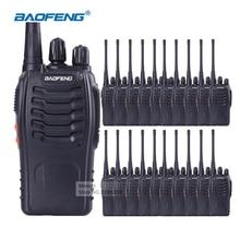 20 шт. Baofeng портативной рации с наушником Baofeng BF-888S UHF Long Range 2 способ радио Baofeng 888 S Ручной Ham коммуникатор радио
