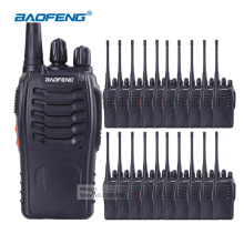 20pcs Baofeng Walkie Talkie with Earpiece BaoFeng 888s UHF Long Range 2 Way Radios Rechargeable Battery Ham Radio Communicator