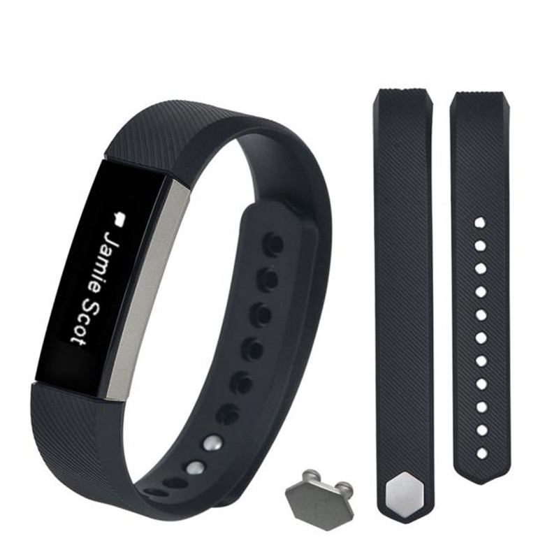 1 Set Men Replacement Silicone Wristband + Buckle For Fitbit Alta High Quality Durable Famous Watch Bands Straps Correa Reloj