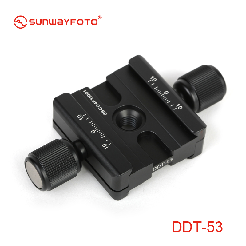 SUNWAYFOTO DDT 53 Tripod Head Quick Release Clamp For DSLR Tripode Quick Release Clamp Plate BallHead