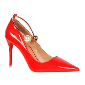 MoBeiNi Autumn High Heel Women s Thin Pointed Toe Shoes 733781916d16