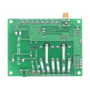 Image 5 - 12V 24V 36 10A Motor Remote Control Switch Motor Forwards Reverse Up Down Stop Door Window Curtain Wireless TX RX Limited Switch