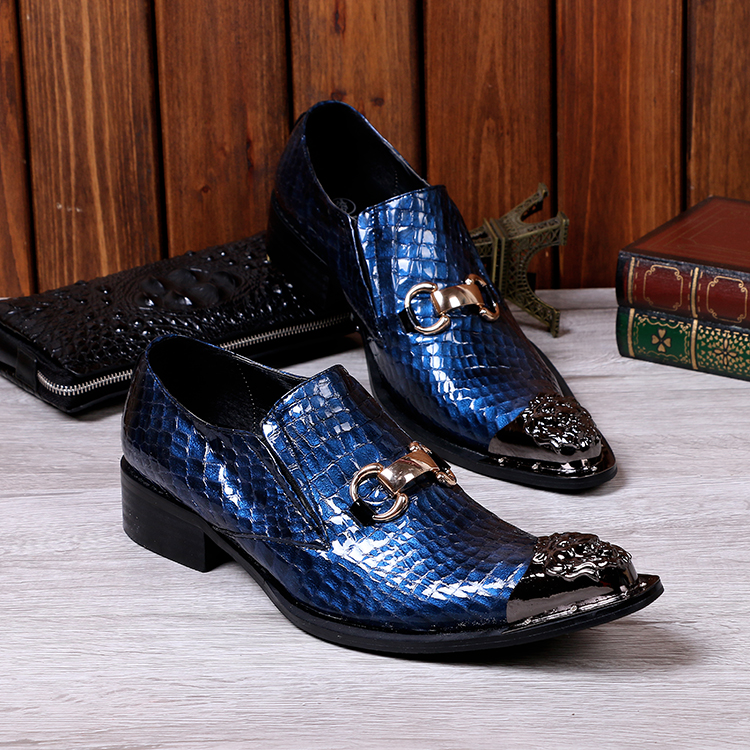 2017 Newest Wedding Shoes Men Fashion Casual Party Dress Shoes