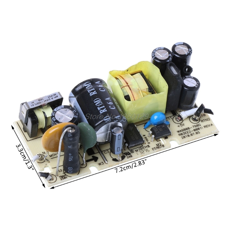 AC-<font><b>DC</b></font> 5V <font><b>2A</b></font> 2000mA Switch Switching Power Supply Module For Replace/Repair LED Power Supply Board AUG_<font><b>21</b></font> Wholesale&DropShip image