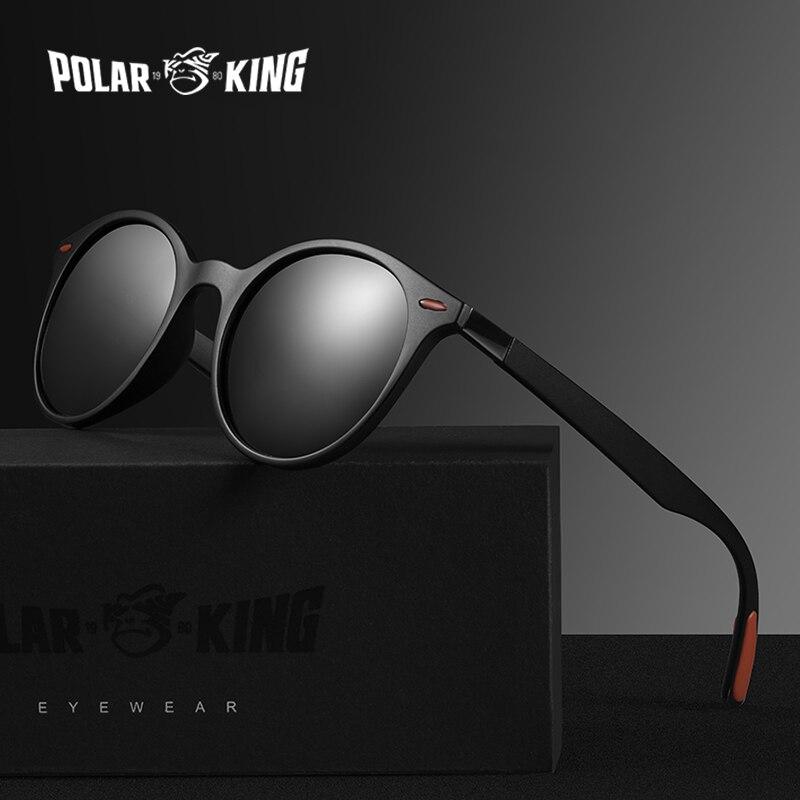 Polarking marca de moda polarizada óculos de sol de plástico masculino condução óculos de sol óculos de pesca viagem