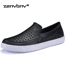 ZENVBNV Men Loafers Shoes 2018 EVA Hole Man Flats Breathable Light Men Fashion Classic Outdoor Shoes Mens Shoes For Men Sneakers