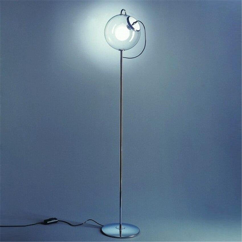 Современные фонари Стекло торшер торшеры Спальня стенд свет Обеденная освещение украшения E27 торшеры светильники
