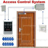 Waterproof Touch Keypad ID Reader Door Access Control System Lock Power Supply