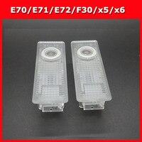 2pcs Car Door Light E70 E71 E72 F30 X5 X6 4 Series Car Courtesy Projector Light