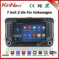 KiriNavi Android 7.1 car dvd for VW Golf mk6 5 Polo Jetta Tiguan passat b6 B5 cc for skoda octavia fabia mirror link wifi 3g