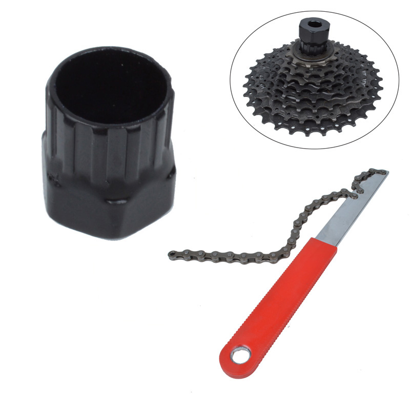 Bicycle Cassette Flywheel Freewheel Lockring Repair Tool For Bike Shiman Rotating Flywheel Installation And Removal Tool