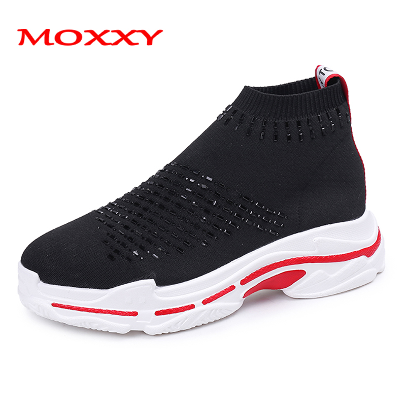 2019 New Fashion Brand Summer Sneakers Women Tenis Chunky Sneakers Sock Shoes Casual Sport Shoes Woman Sneakers chaussures femme2019 New Fashion Brand Summer Sneakers Women Tenis Chunky Sneakers Sock Shoes Casual Sport Shoes Woman Sneakers chaussures femme