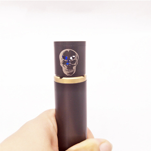Image 5 - ZZtech New Style Electronic Cigarettes Distinctive LED Skull Design Flash and Change The Colored Lights For All The Atomizers