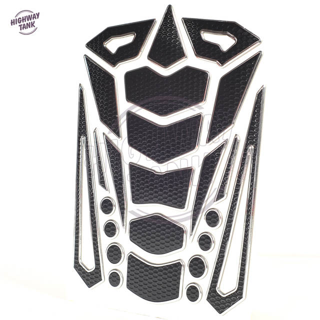 US $3 35 |3D Motorcycle Decal Gas Oil Fuel Tank Pad Protector case For  Yamaha Suzuki Kawasaki Honda CB1000R CBR600RR Shadow etc-in Decals &  Stickers