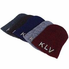 Unisex Wool Blend Knit Beanie Autumn Winter Hat 2017 New Fashion Outdoor Ski Cap Warm Skullies Beanies For Men And Women