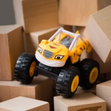 1pcs Blaze Car Toys 1:64 Vehicles Diecast Toy the Monster Machines Cartoon PVC Model Racing Cars Mountain vehicle Gift