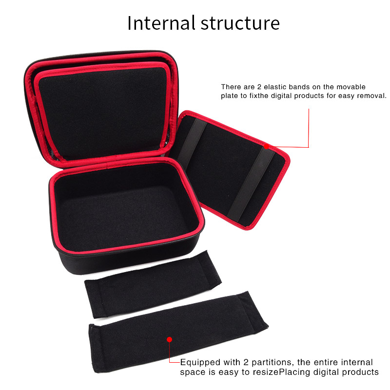 Image 3 - Large Size Electronic Gadgets Storage Case Bag Travel Organizer Case For HDD USB Flash Drive Data Cable Digital Storage Bag-in Bags from Consumer Electronics