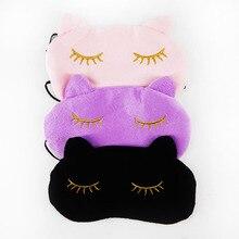 Cute Cat Sleeping font b Eye b font Mask Nap Cartoon font b Eye b font