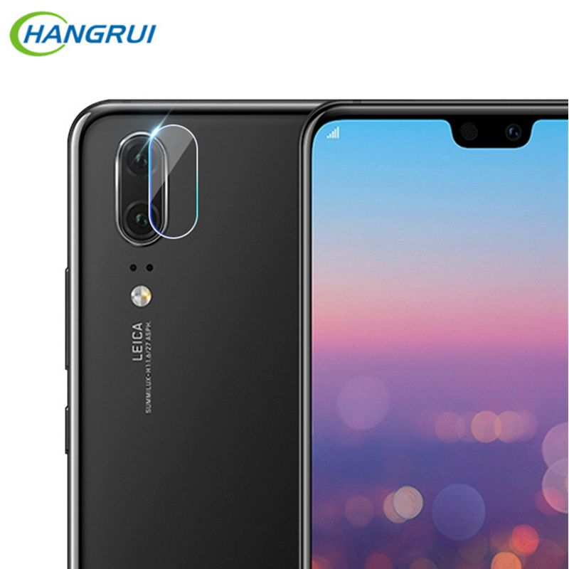 Hangrui 2.5D Tempered Glass Lens Protector For Huawei P20 Lite Camera Len Glass Film P20 Pro Back Lens Protection Film 9H Glass