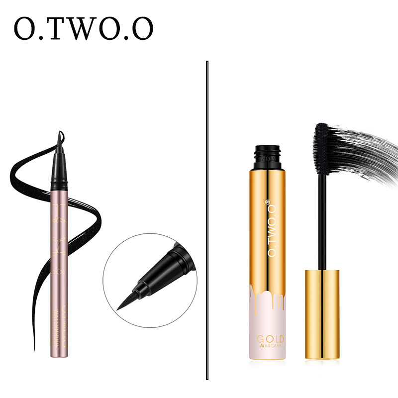 O TWO O Make up Set 8 PCS Face Powder Foundation Concealer Blush Kit Eyeshadow Eyeliner Mascara Lip Gloss Ladies Makeup Kit Gift in Makeup Sets from Beauty Health