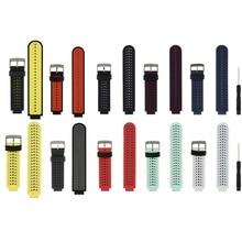 (235ss) silikon Ersatz Uhr Band für Garmin Forerunner 230/235/235 Lite/220/620/630/ 735 Smart Uhr