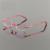 Titanium óculos sem aro mulheres óculos de miopia óculos de leitura prescrição progressiva photochromic lente espetáculo com cor cristal