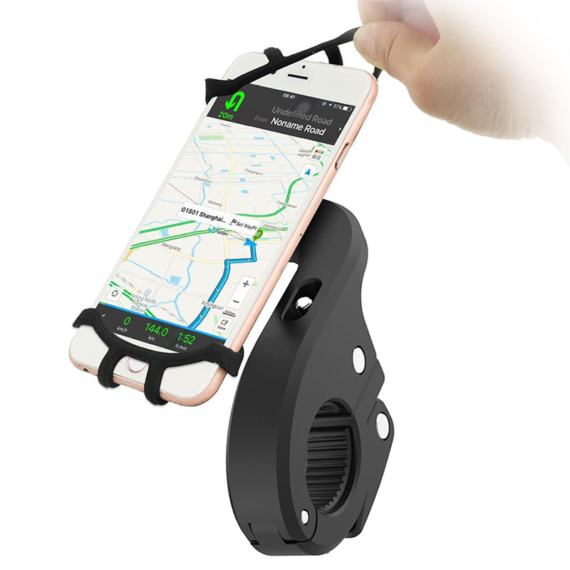 360 Degree Rotation Bicycle Phone Holder For Iphone X Iphone 8 Smartphone Bike Handlebar ...