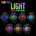 2017 New Arrival Sport Watches Fashion Casual LED Black Light Watch Shock Resistant Digital Wrist Watch Men SKMEI Sports Watches