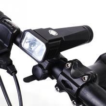 цена на Waterproof T6 LED Bike Bicycle Light Headlamp Head Lamp USB Charging Lamp Headlight Cycling Flashlight