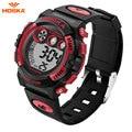 2017 Luxury Brand HOSKA LED Digital Watch Men S Waterproof Sports Military Watches Shock Children Analog Digital-watch relogio