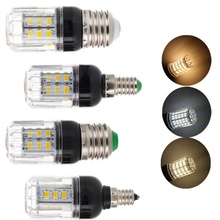 LED Bulb  5730 SMD 110V 220V DC 12V 24V E27 E14 E12 E26 27 LEDs 7W Led Corn Light Lamp Christmas Chandelier Candle Home Lighting