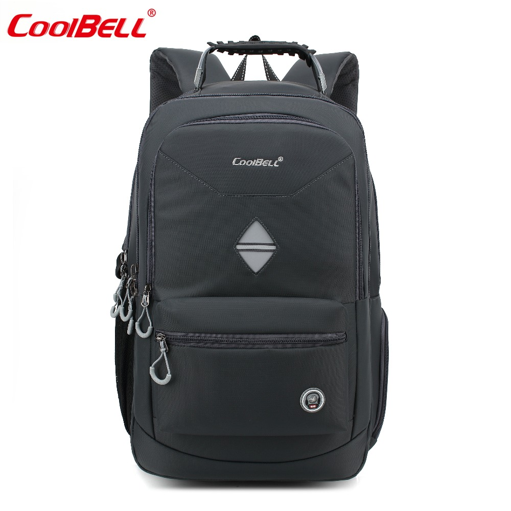 Travel Rucksack Us 45 16 36 Off Coolbell 18 4 Inch Backpack Laptop Bag Travel Rucksack Waterproof Hiking Knapsack Protective Day Pack For Men Women In Laptop Bags