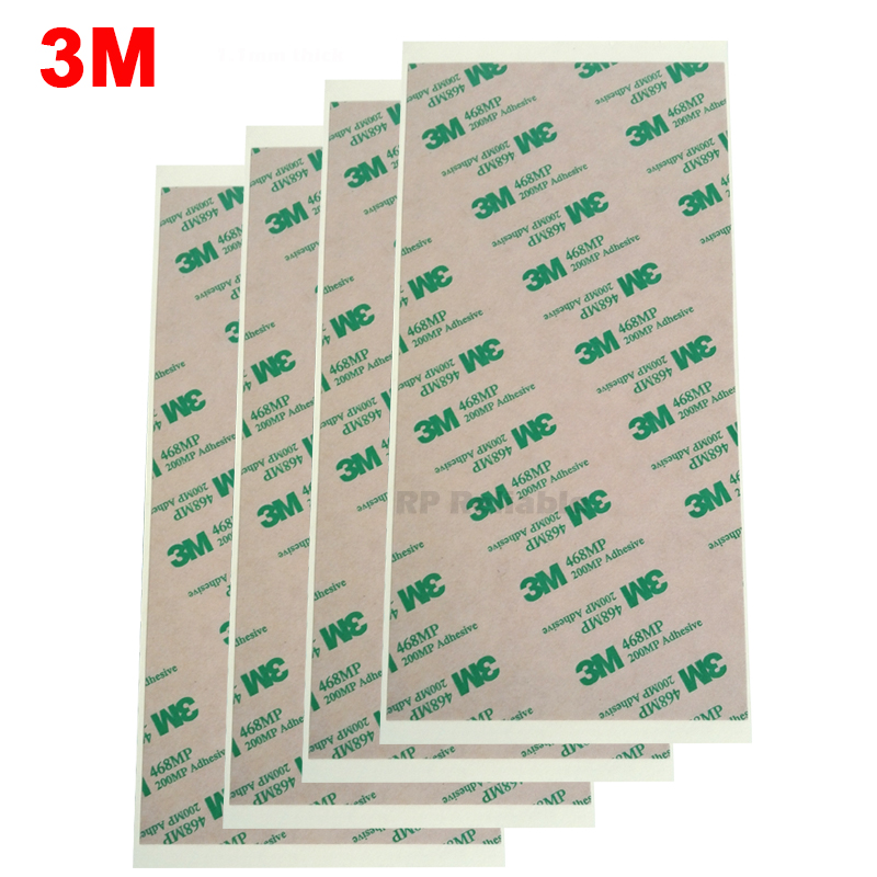 3M (10cm*20cm) 468MP Double Sided Adhesive Clear Sticker For Phone, Tablet, Keyboard, Rubber, Thermal Pad , High Temp Resist