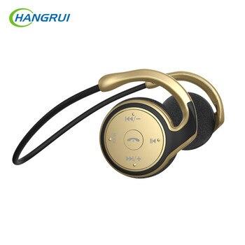 HANGRUI Neckband Wireless Headphones support TF card Music Player Bluetooth Earphone Headset with mic Handsfree CAll Auriculars