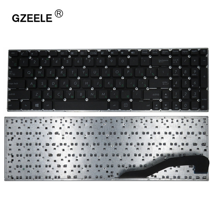 GZEELE NEW RU Keyboard for Asus F540 F540L F540LA F540LJ F540S F540SA F540Y F540YA X540Y X540YA F540 A540 K540 K540L K540LA-in Replacement Keyboards from Computer & Office on