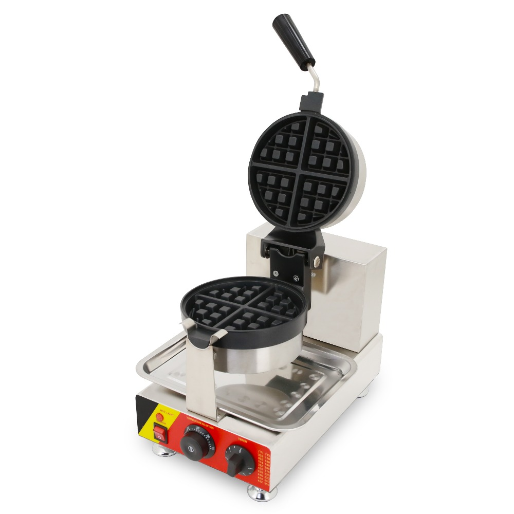CE factory price rotate waffle maker egg waffle machine